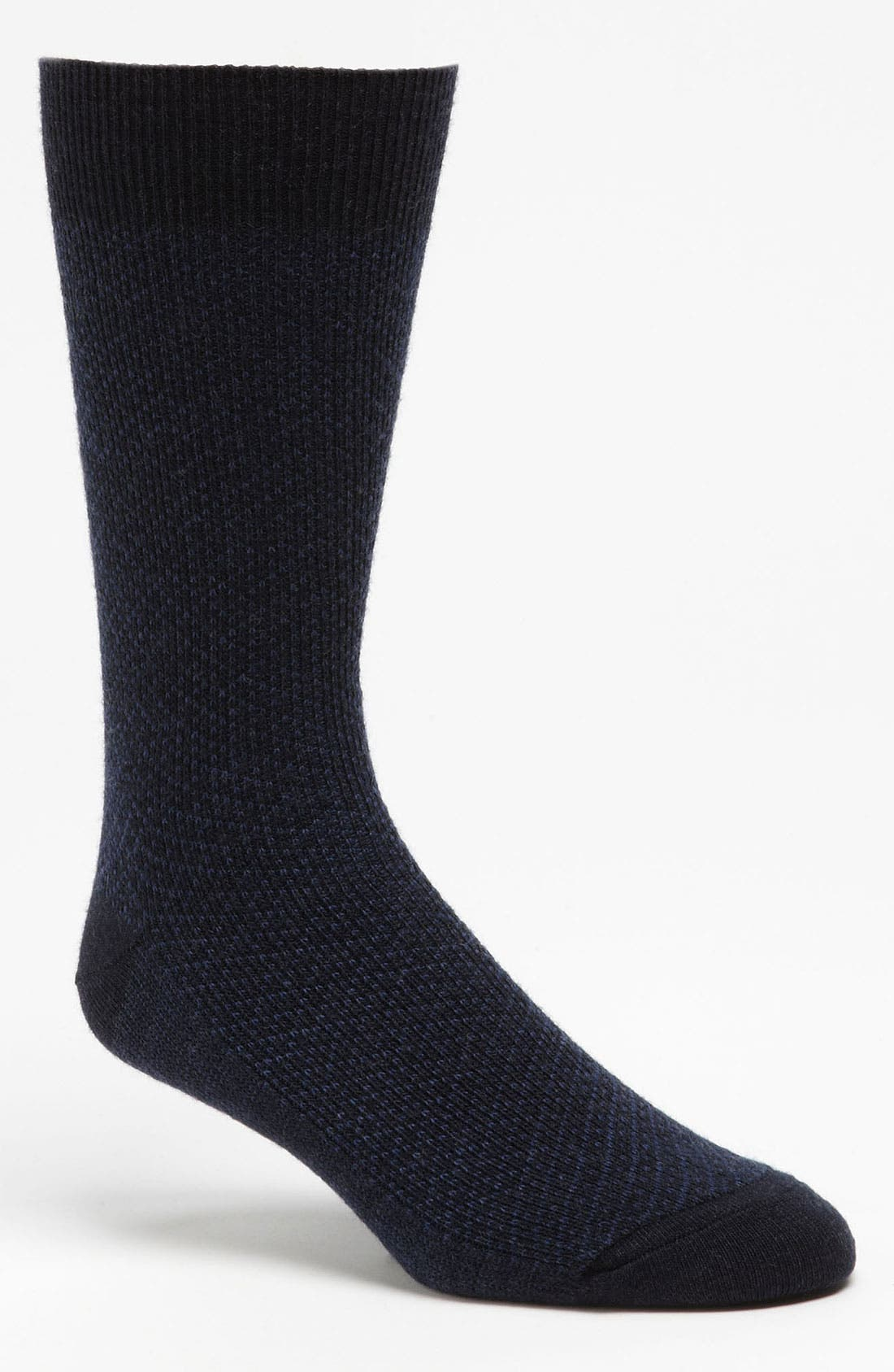 Alternate Image 1 Selected - David Donahue Wool Blend Socks