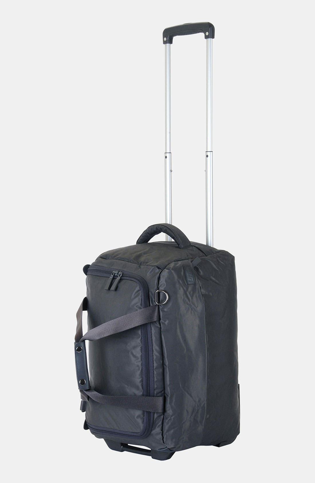 Alternate Image 3  - LIPAULT Paris Foldable Rolling Duffel Bag (20 Inch)