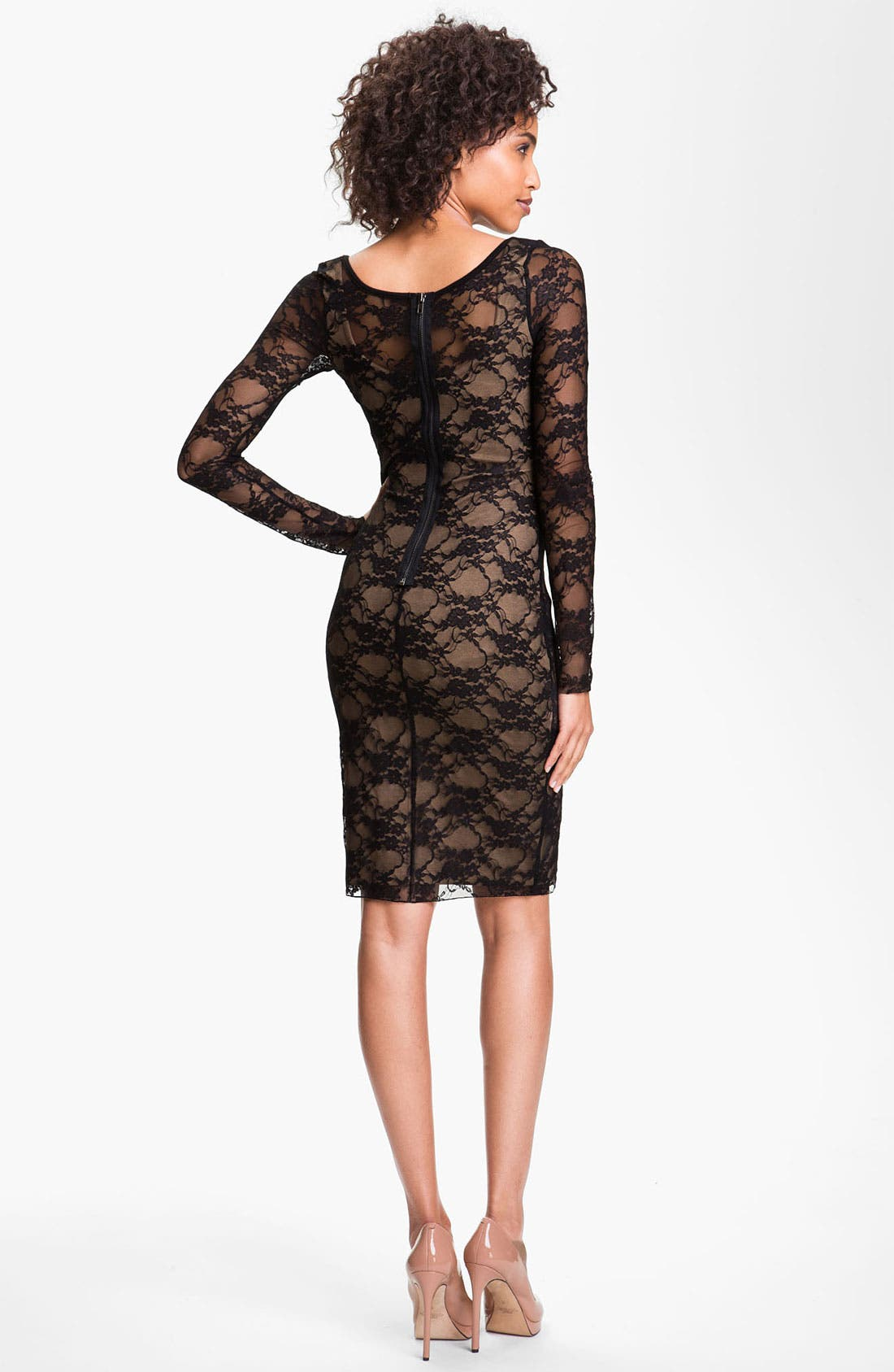 Alternate Image 2  - B44 Dressed by Bailey 44 'Extra Credit' Lace Sheath Dress