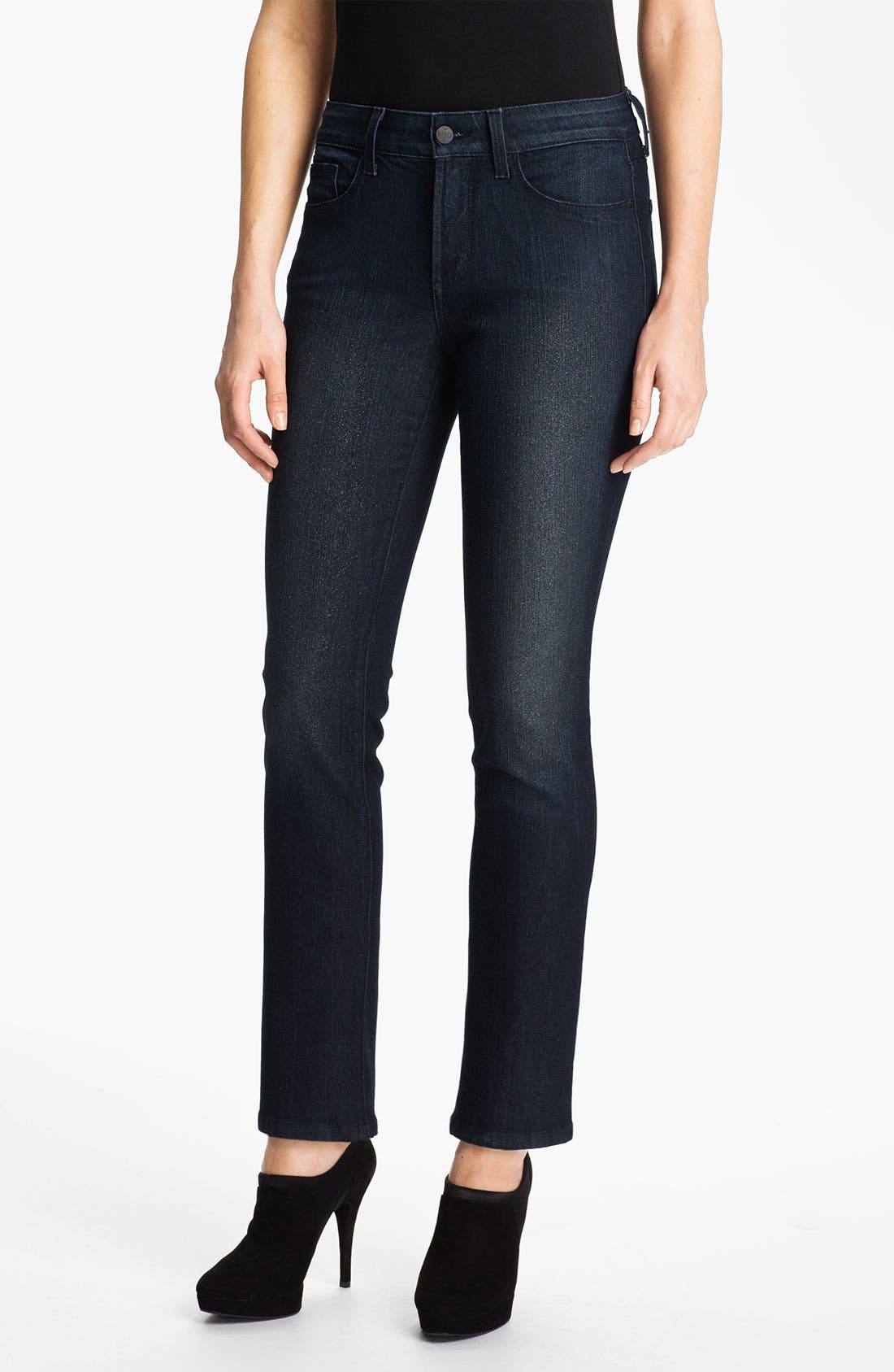Alternate Image 1 Selected - NYDJ 'Sheri' Stretch Skinny Jeans (Petite)
