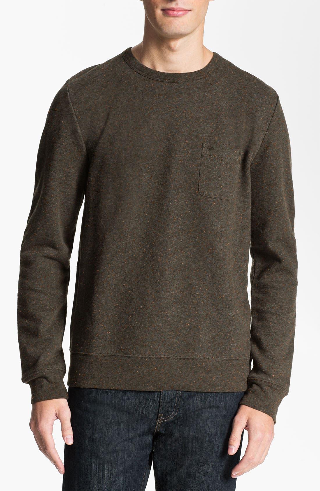 Alternate Image 1 Selected - Obey 'Rye' Crewneck Sweatshirt
