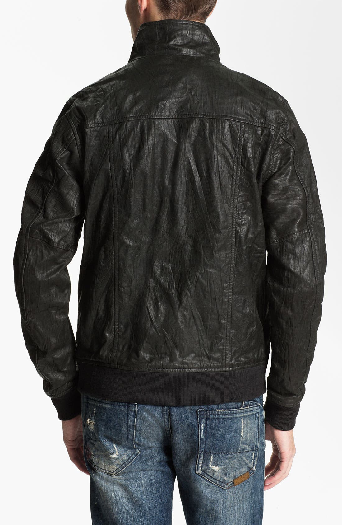 Alternate Image 2  - Zanerobe 'Buck' Leather Jacket