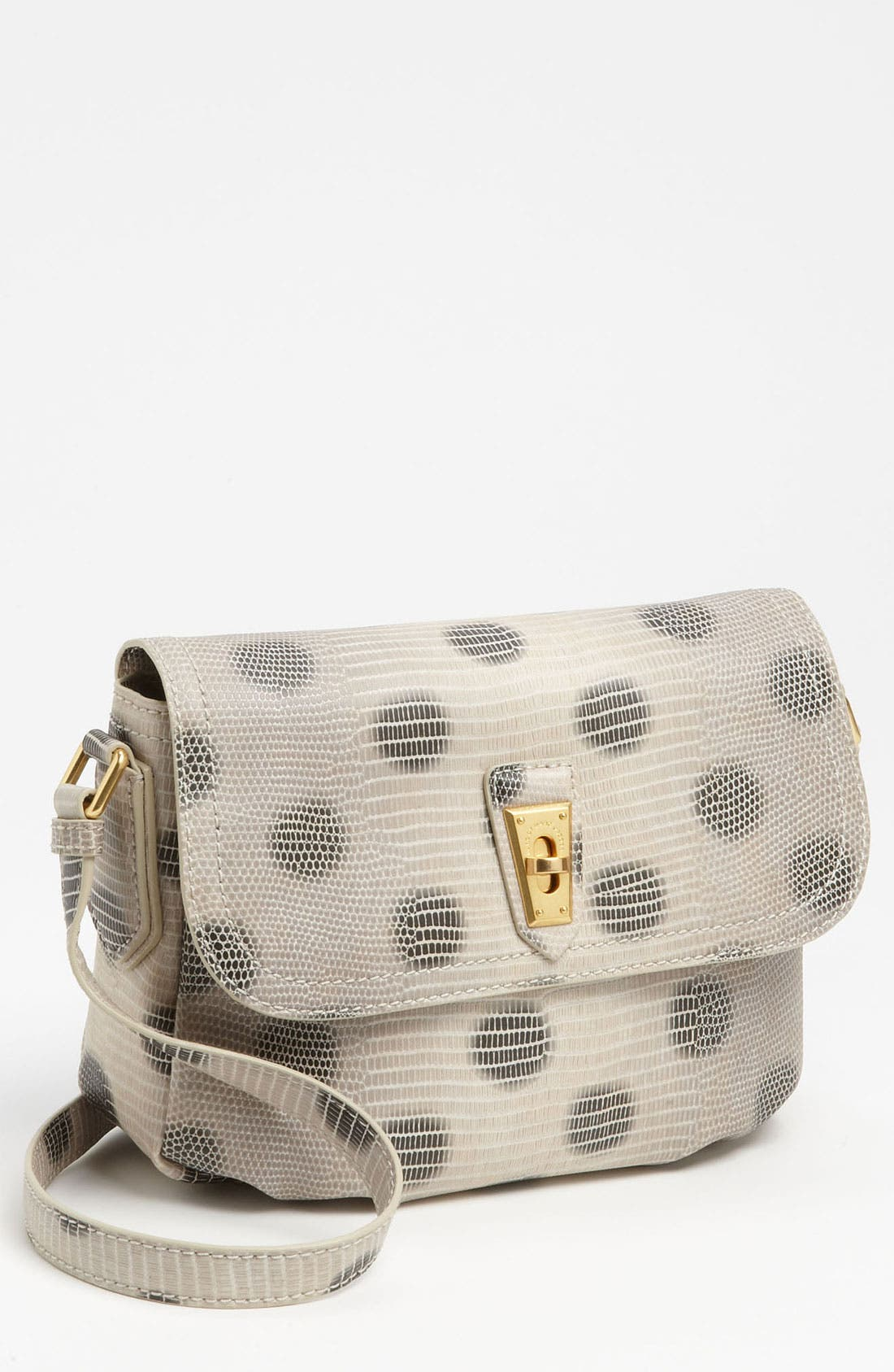 Main Image - MARC BY MARC JACOBS 'Lizzie Dots' Embossed Crossbody Bag