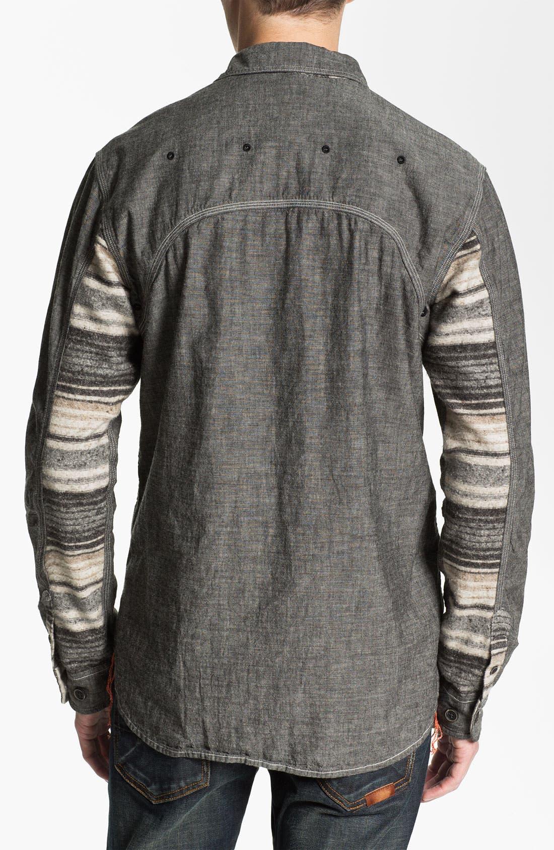 Alternate Image 2  - PRPS 'Naval' Woven Shirt