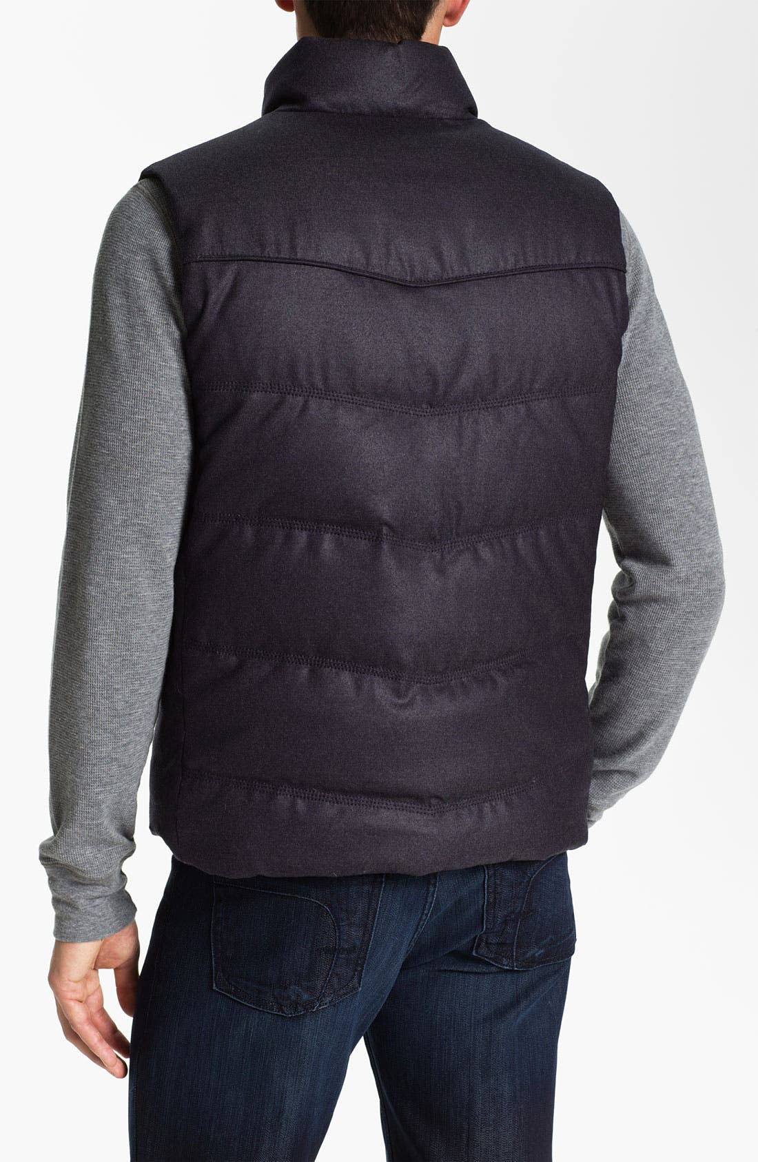 Alternate Image 2  - BOSS Selection 'Laurian' Reversible Quilted Vest