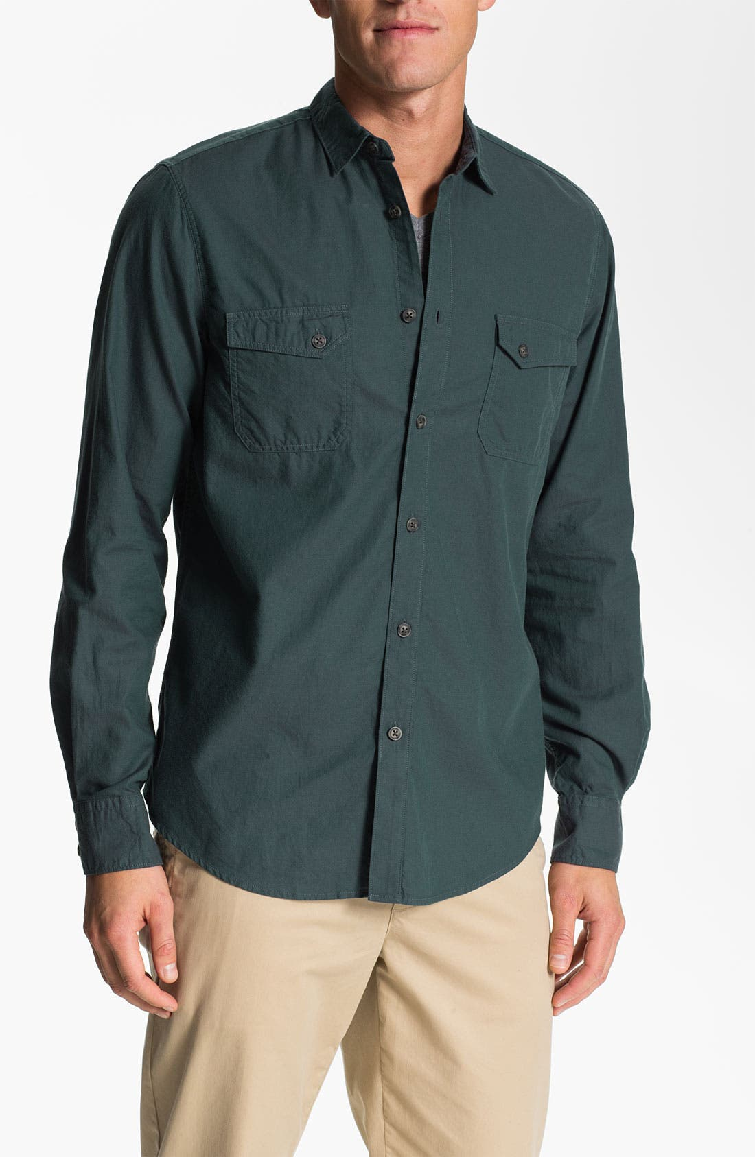 Alternate Image 1 Selected - Ben Sherman 'Shoreditch' Twill Shirt