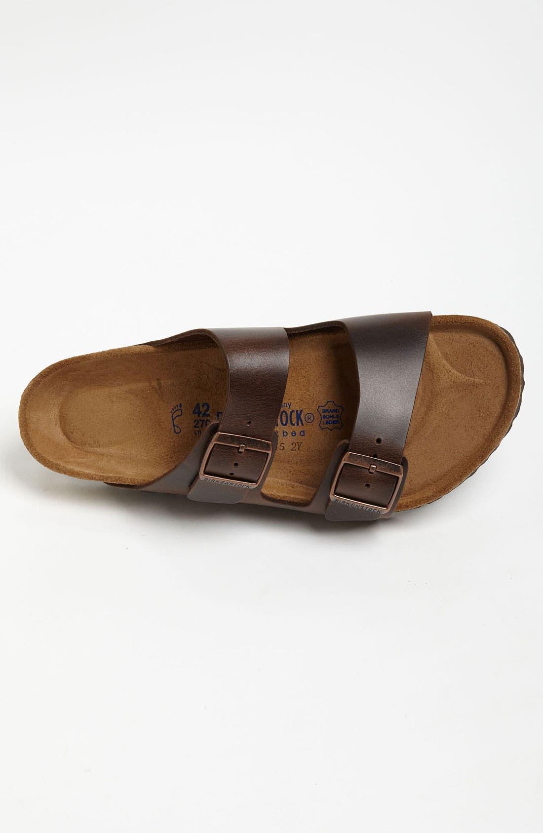 Alternate Image 3  - Birkenstock 'Arizona Soft' Sandal   (Men)