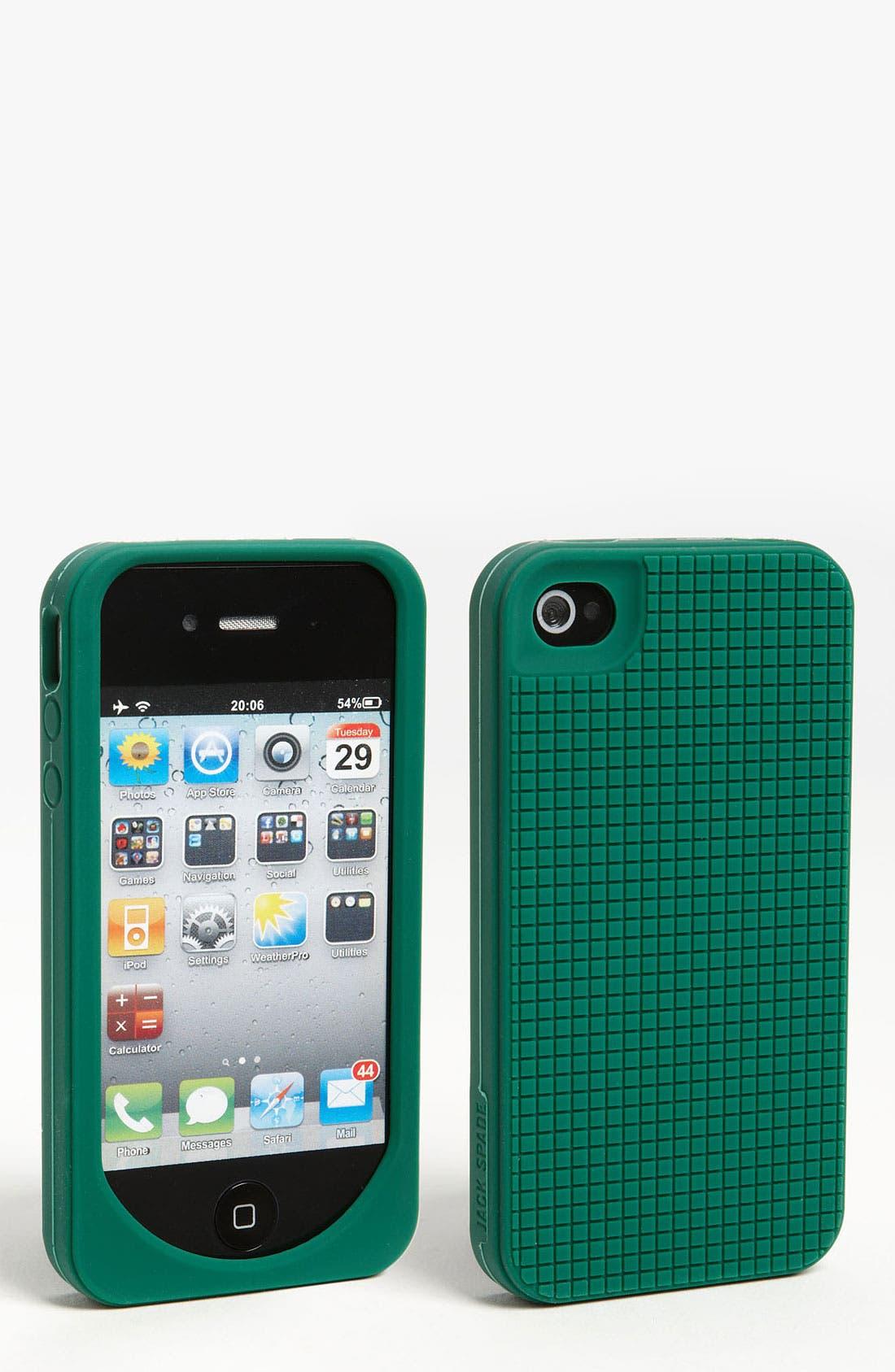 Alternate Image 1 Selected - Jack Spade 'Grid' iPhone 4 & 4S Case