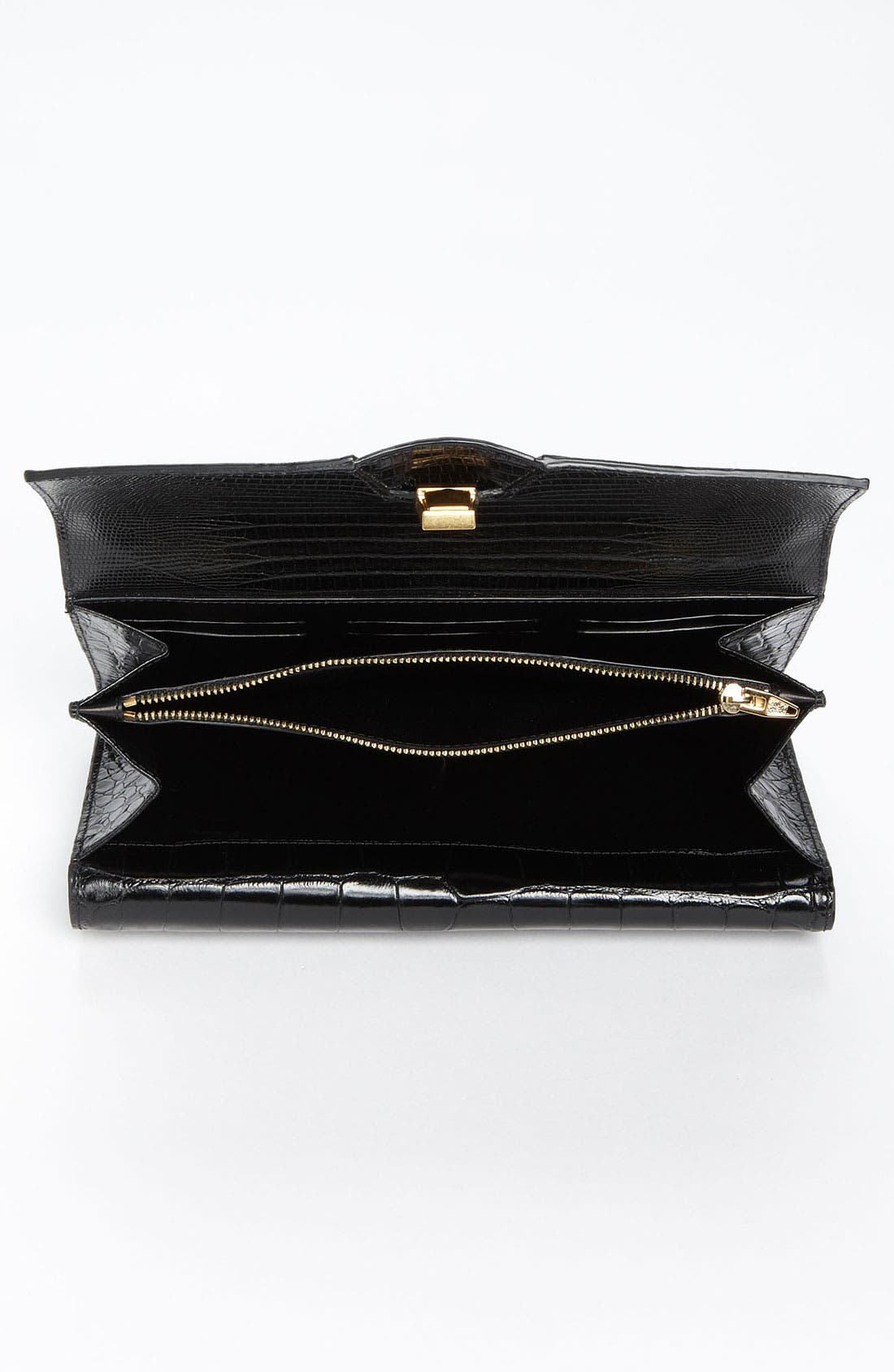 Alternate Image 3  - Alexander Wang Trifold Embossed Leather Clutch
