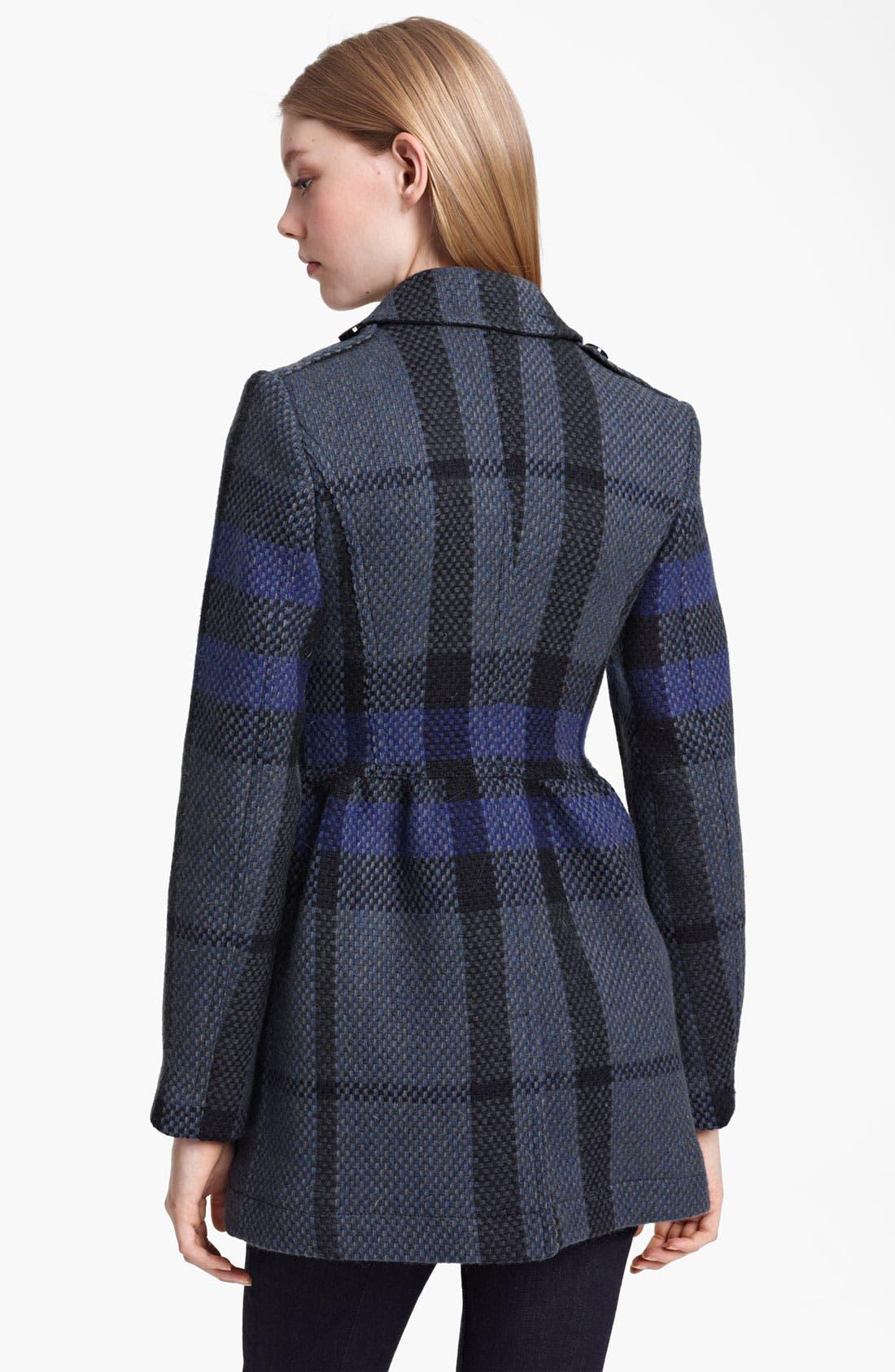 Alternate Image 2  - Burberry Brit Wool Peacoat