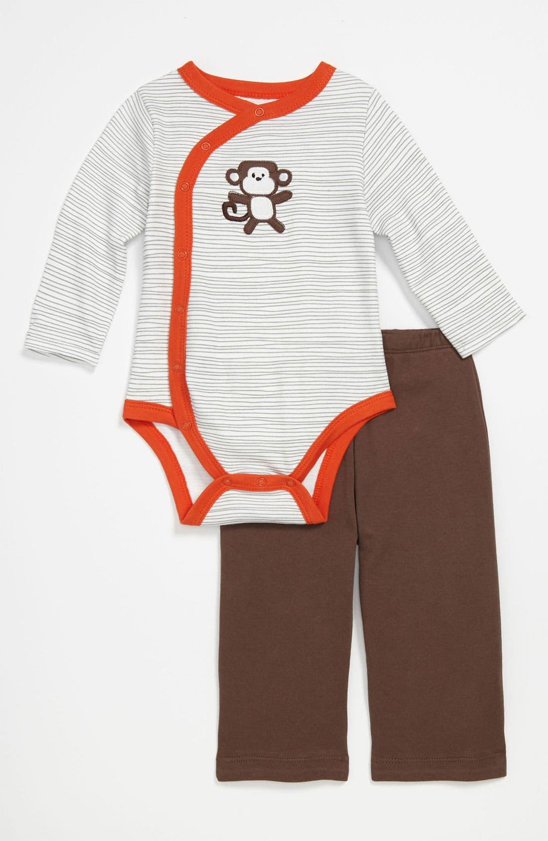 Alternate Image 1 Selected - Offspring Bodysuit & Pants (Infant)