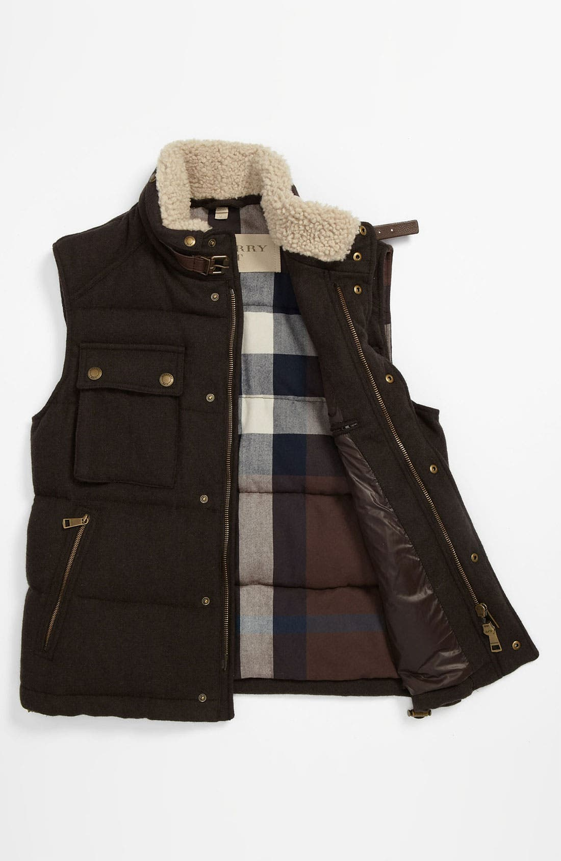 Alternate Image 5  - Burberry Brit Quilted Down Vest