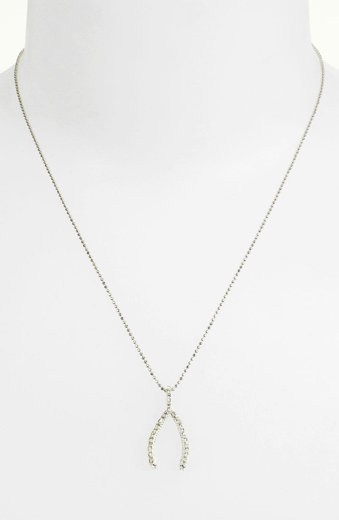 Alternate Image 2  - Judith Jack Reversible Pavé Wishbone Pendant Necklace