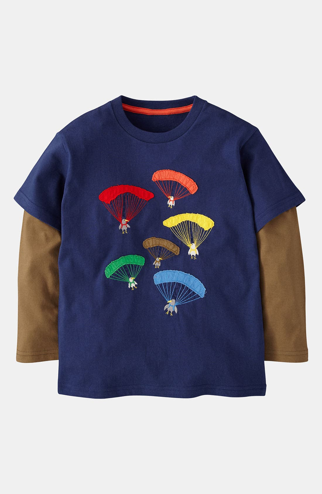 Alternate Image 1 Selected - Mini Boden 'Colorblast' T-Shirt (Toddler)