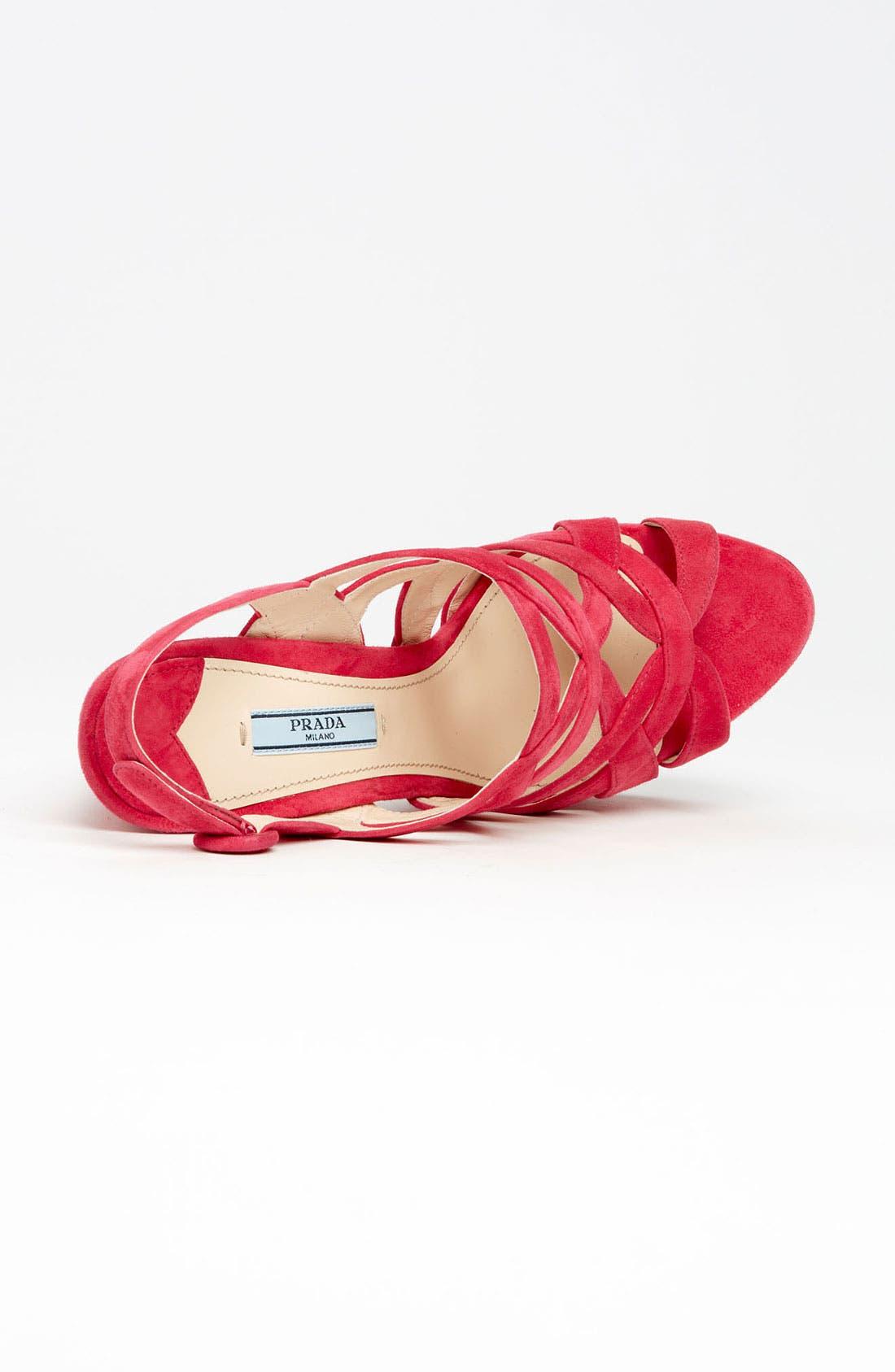 Alternate Image 4  - Prada Caged Platform Sandal