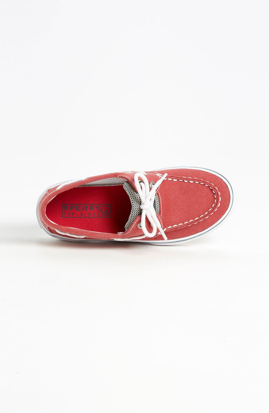 Alternate Image 3  - Sperry Top-Sider® Kids 'Halyard' Boat Shoe (Walker, Toddler, Little Kid & Big Kid)