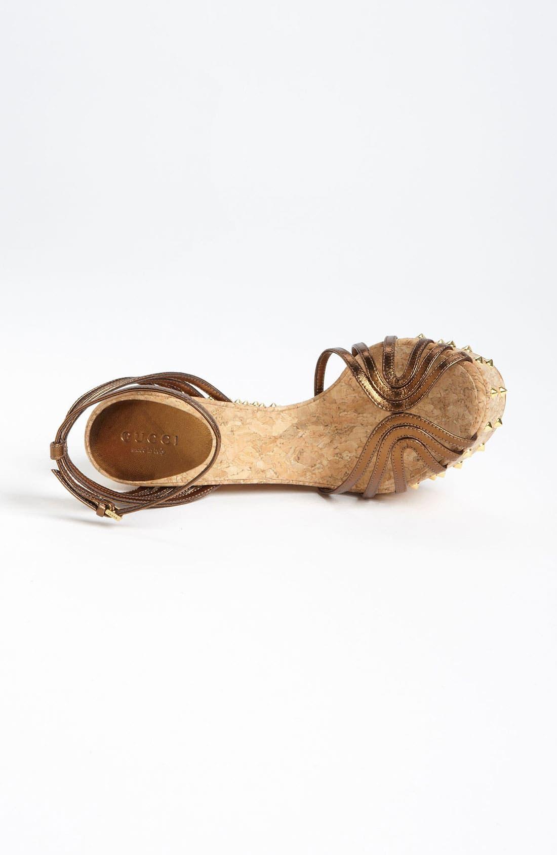 Alternate Image 3  - Gucci 'Cecyl' Wedge Sandal