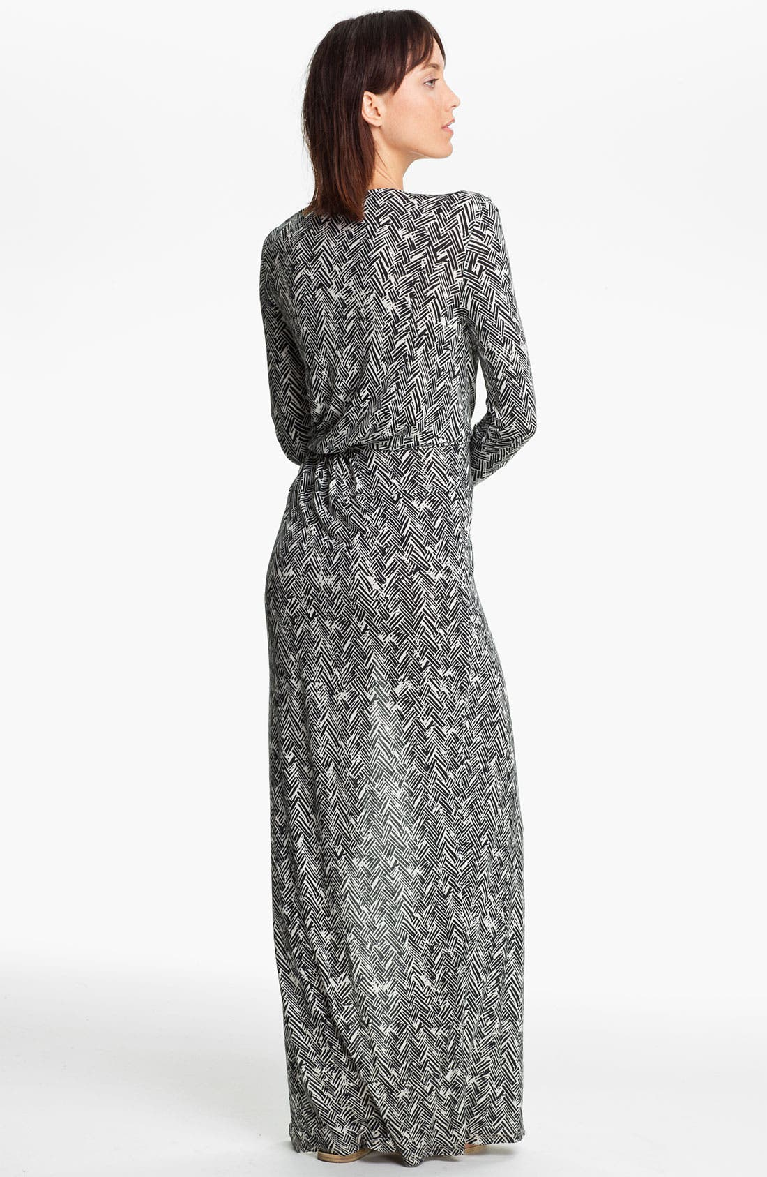 Alternate Image 2  - Thakoon Carbon Copy Basket Weave Print Maxi Dress