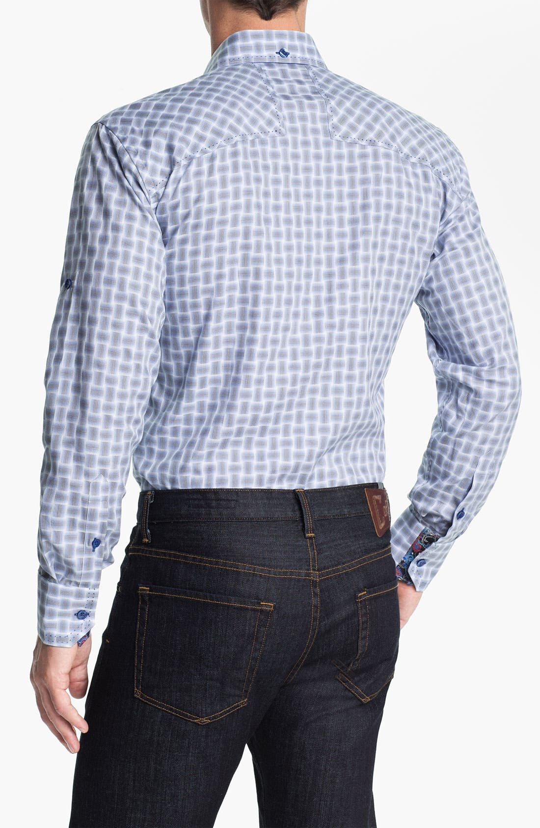 Alternate Image 2  - Bogosse 'G David 83' Trim Fit Sport Shirt
