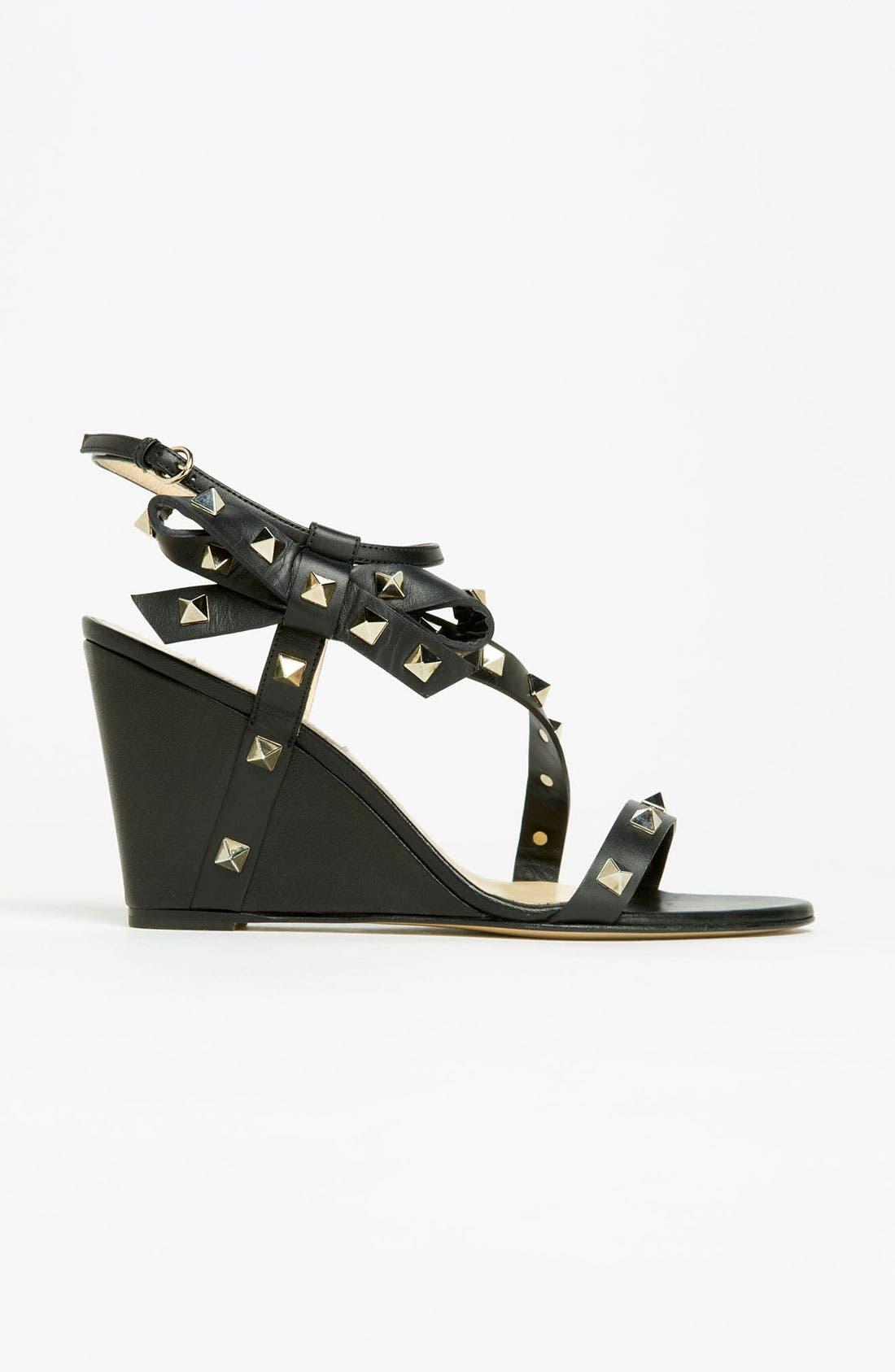 Alternate Image 4  - VALENTINO GARAVANI 'Rockstud' Wedge Sandal