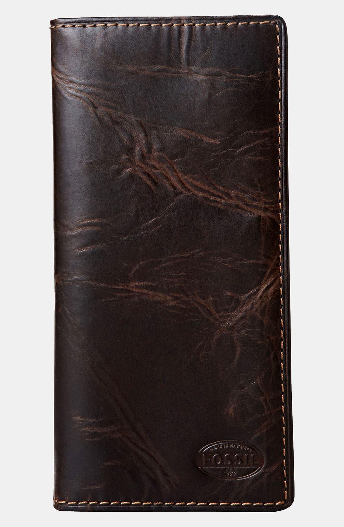 Main Image - Fossil 'Norton' Secretary Wallet