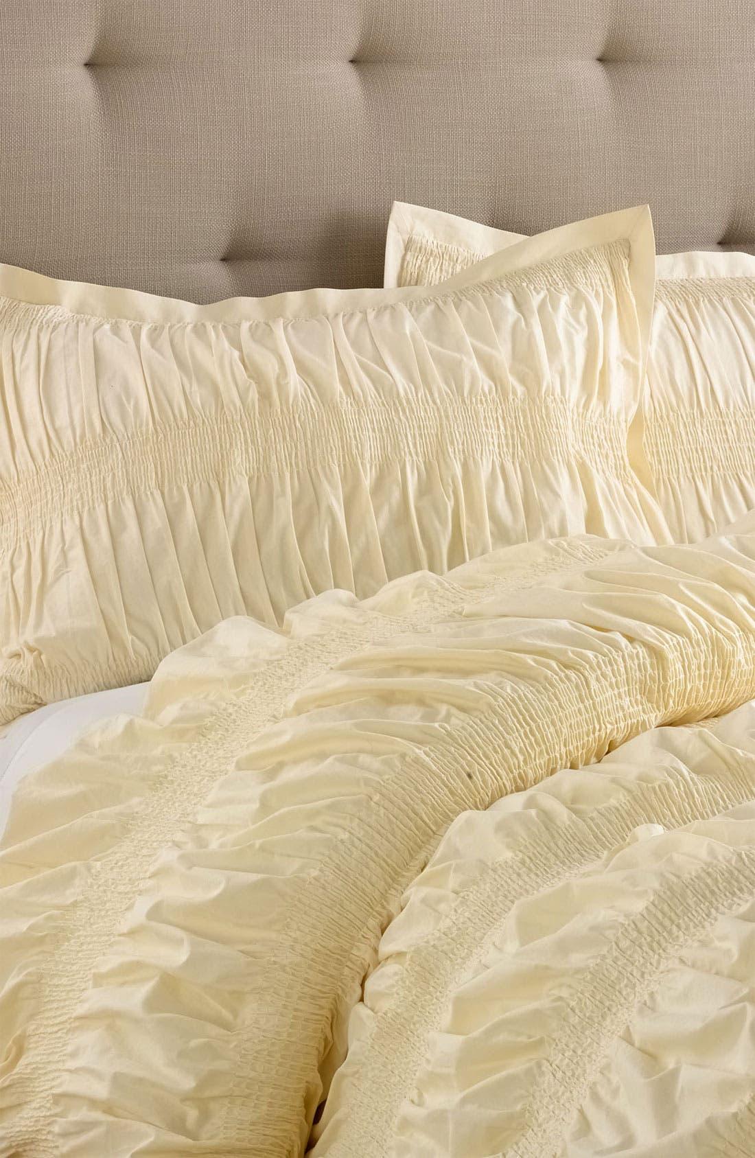 Alternate Image 1 Selected - Nordstrom at Home Smocked Pillow Sham
