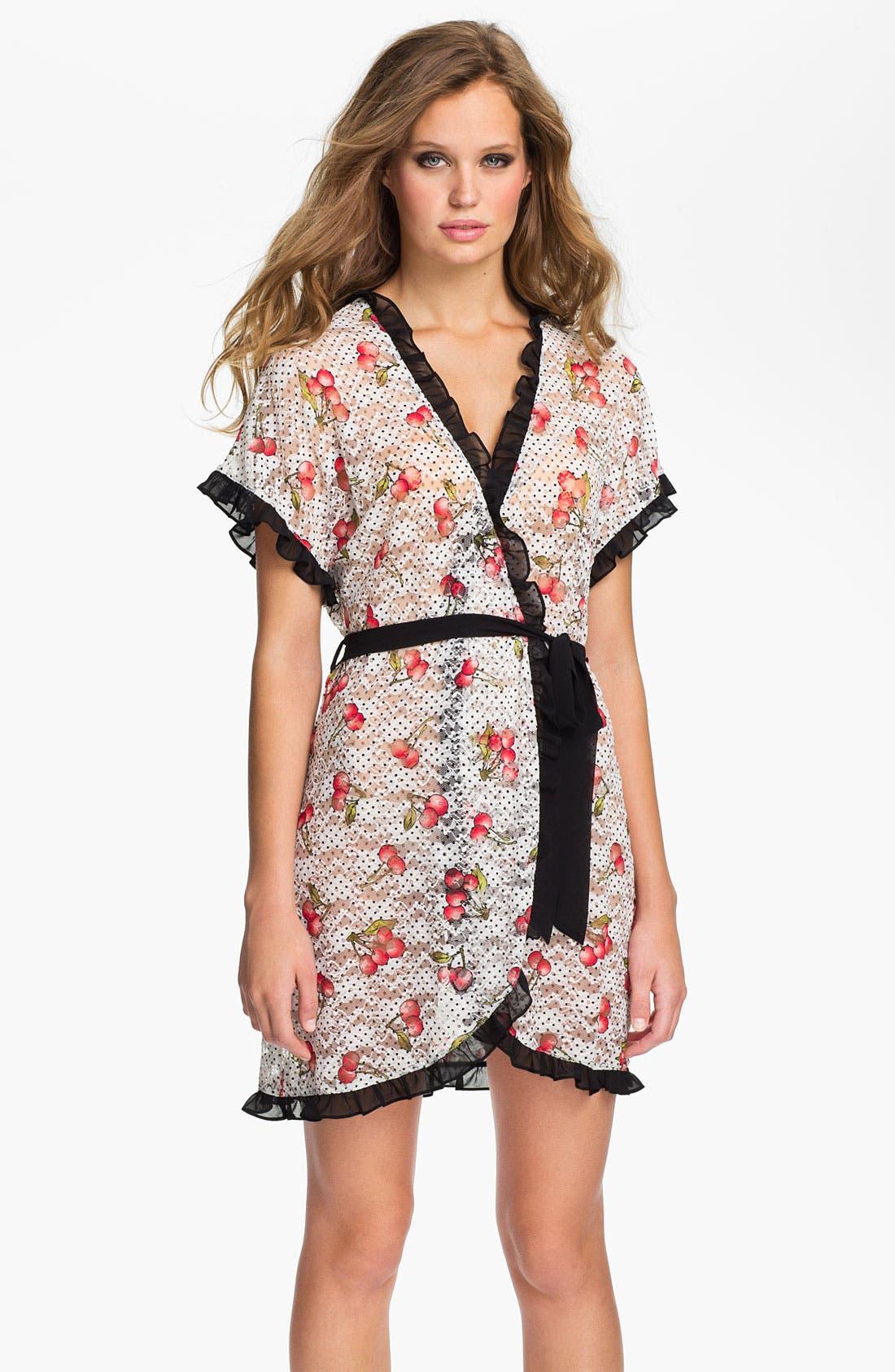 Alternate Image 1 Selected - In Bloom by Jonquil 'Cherries' Robe