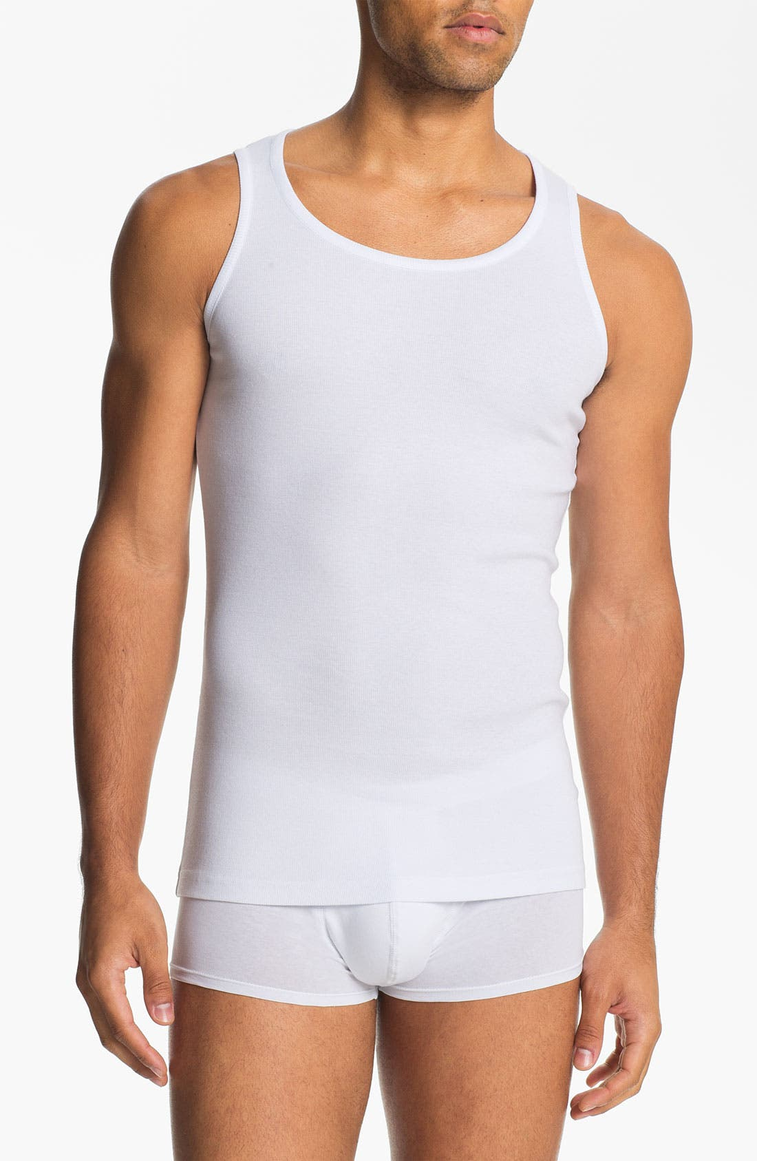Main Image - Naked Supima® Cotton Blend Tank