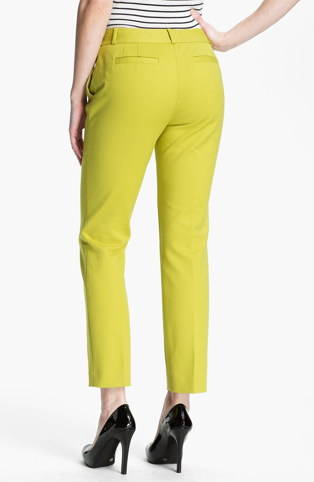Alternate Image 2  - kate spade new york 'davis' slim leg crop pants