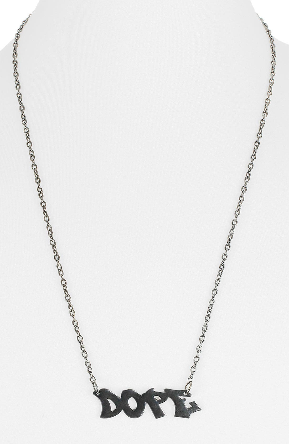 Alternate Image 1 Selected - Topman Pendant Necklace