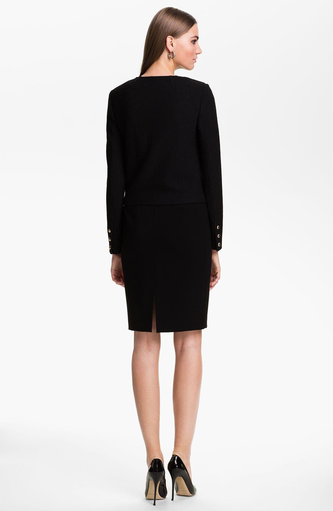 Alternate Image 3  - St. John Collection Bouclé Knit Jacket
