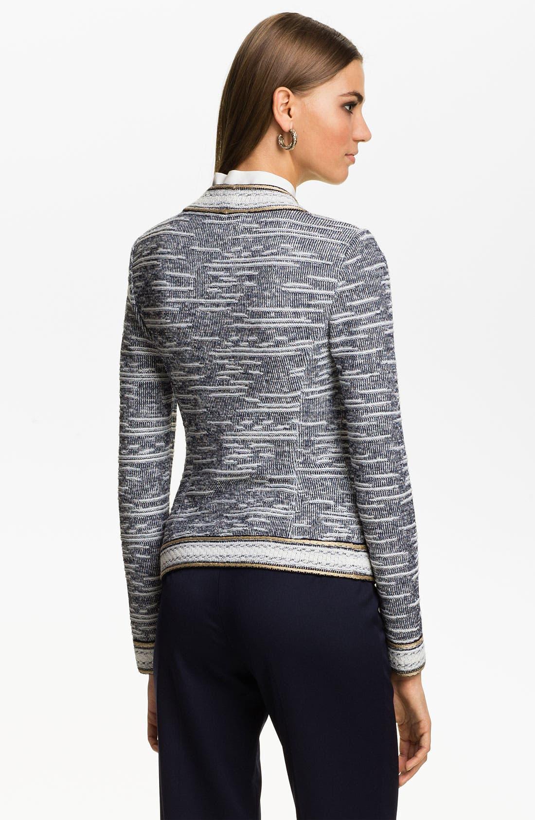 Alternate Image 4  - St. John Collection Nautique Knit Jacket