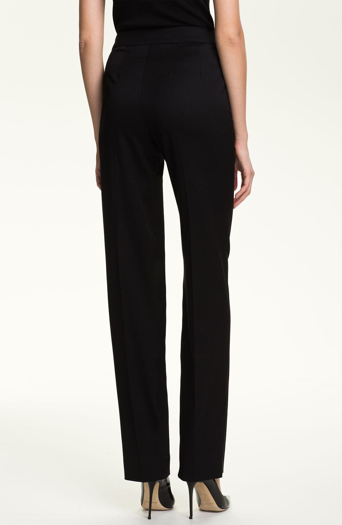 Alternate Image 3  - St. John Collection 'Diana' Stretch Venetian Wool Pants