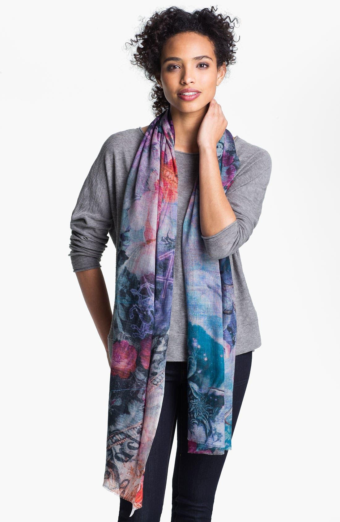 Alternate Image 1 Selected - Shawlux 'Sagittarius' Cashmere & Silk Scarf