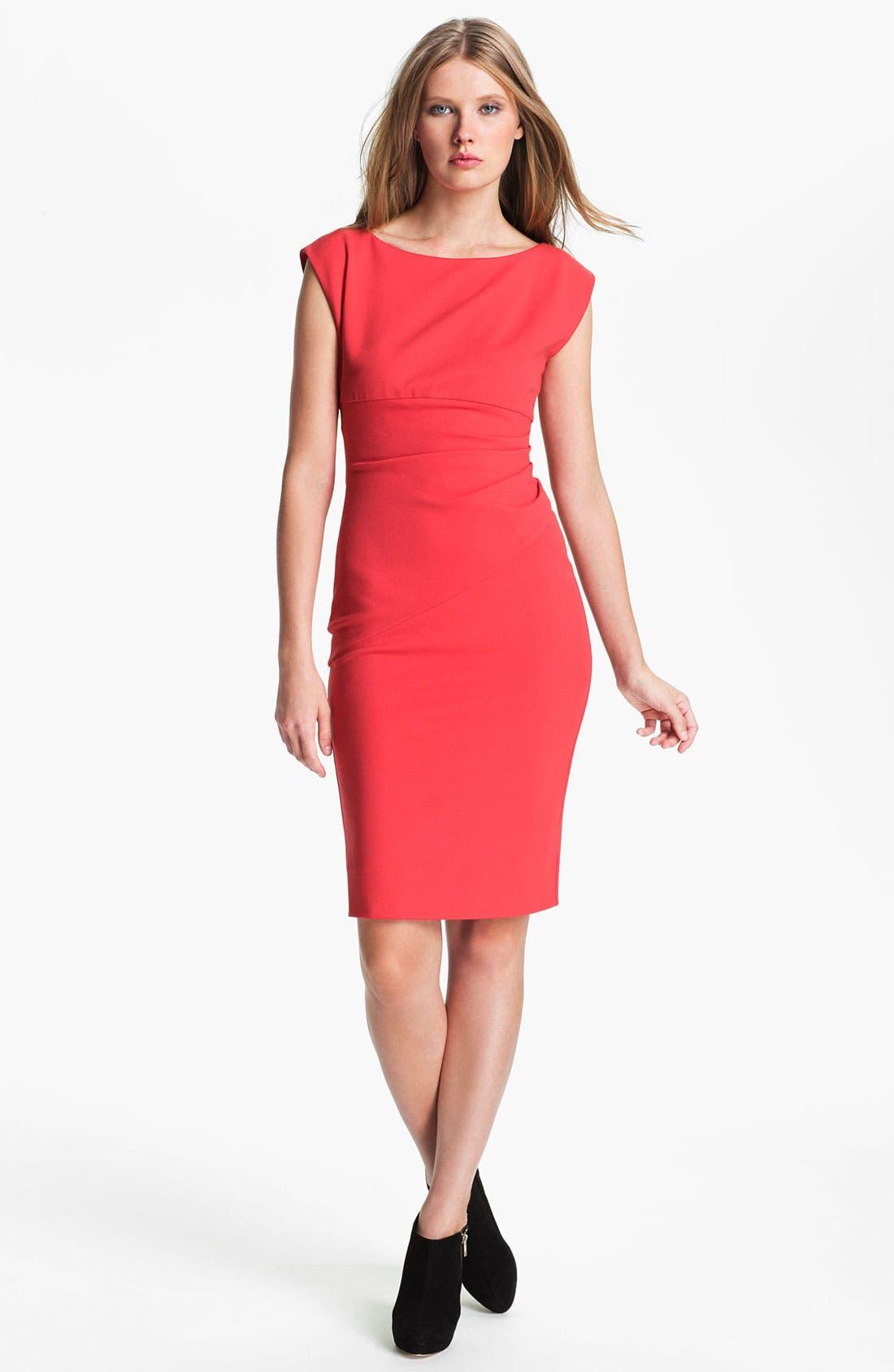 Main Image - Diane von Furstenberg 'Jori' Ruched Sheath Dress
