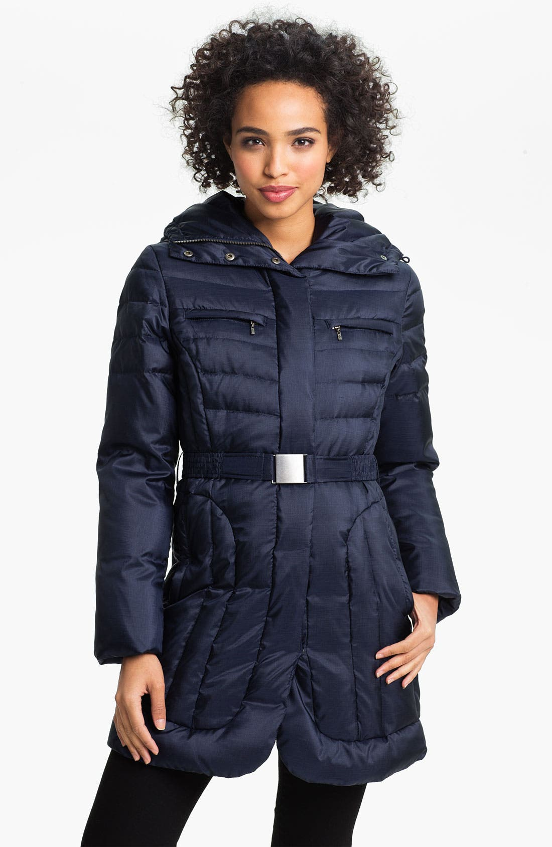 Alternate Image 1 Selected - Cole Haan Pillow Collar Down Coat