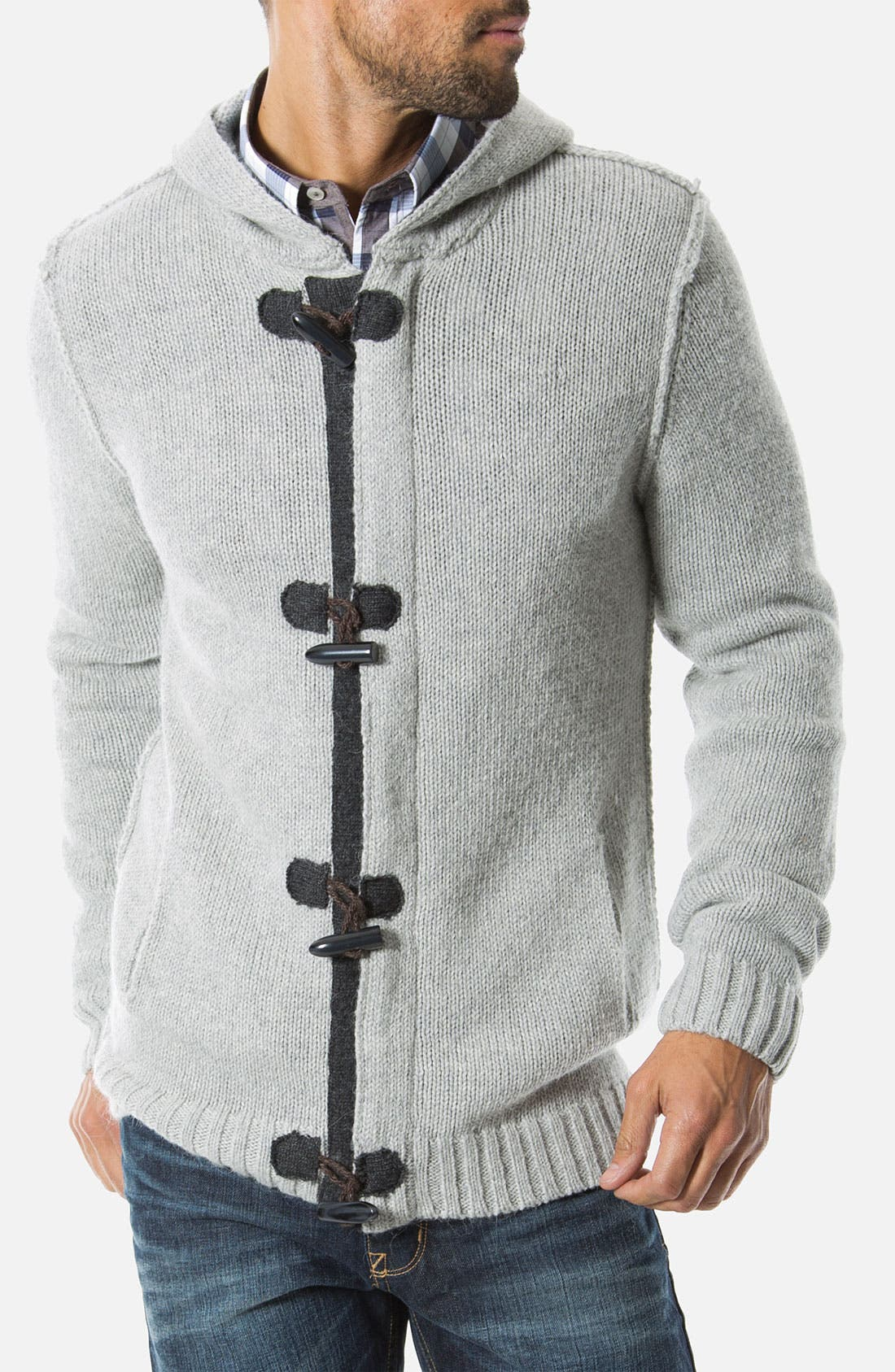 Alternate Image 1 Selected - 7 Diamonds 'Cortina' Hooded Cardigan