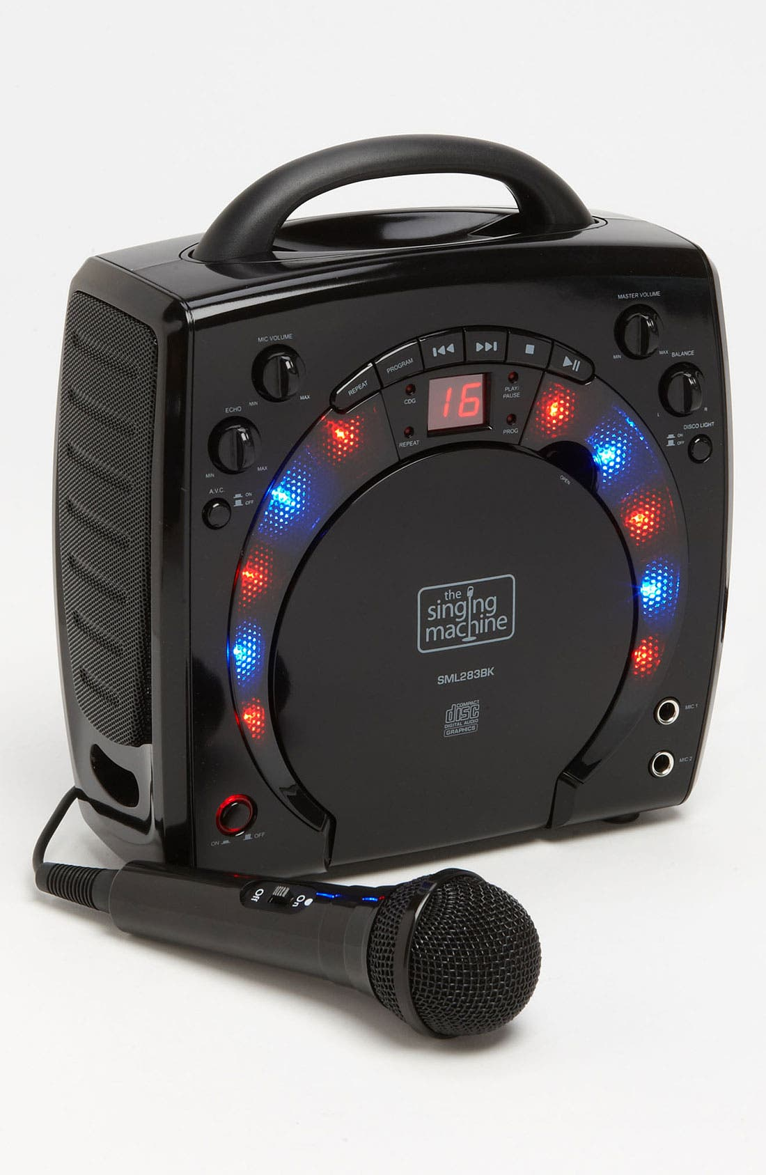 Singing Machine Portable Karaoke System