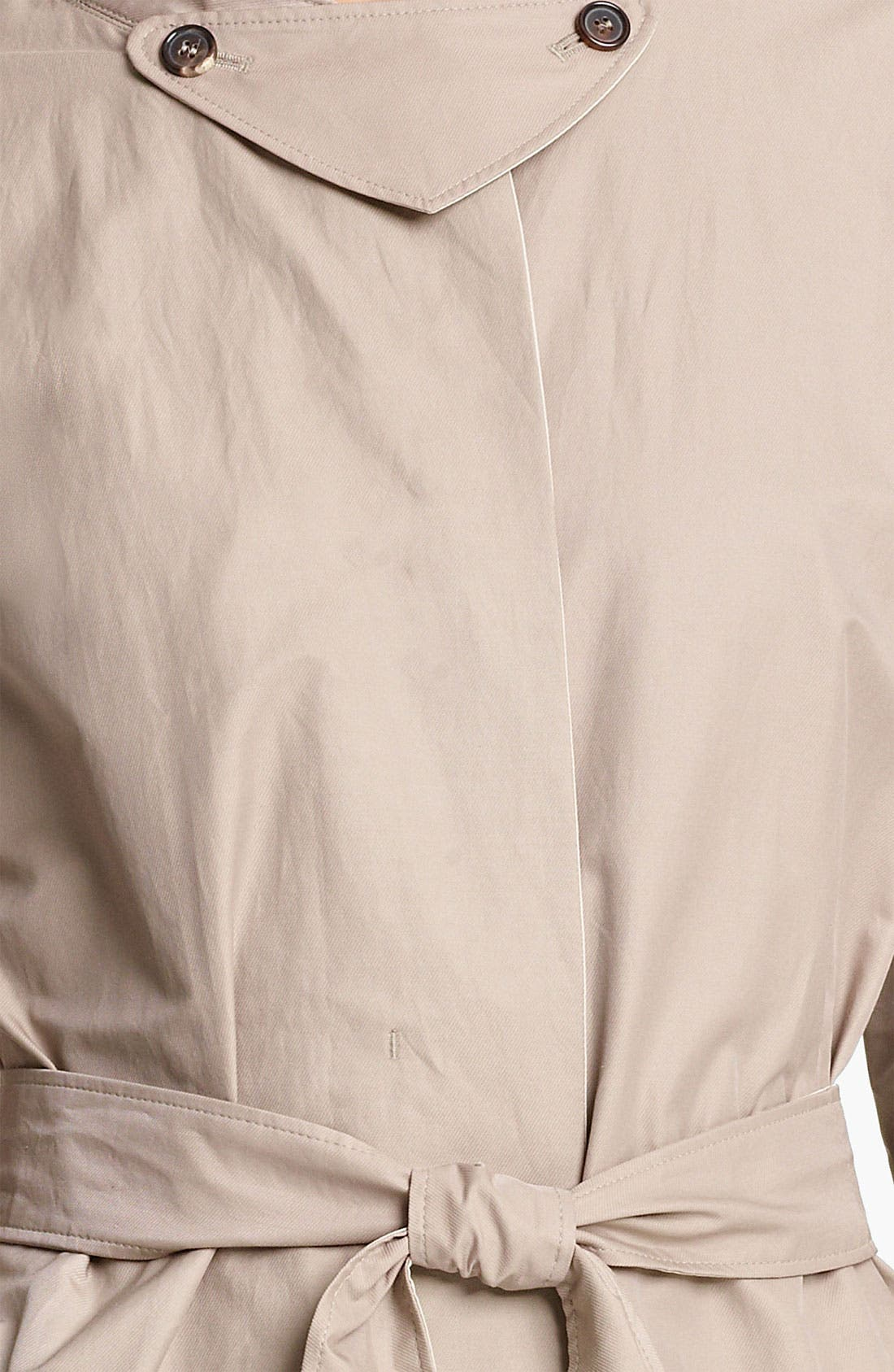 Alternate Image 4  - Max Mara Belted Trench Coat