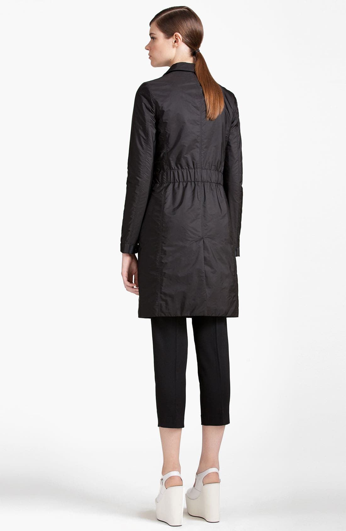 Alternate Image 2  - Jil Sander Navy Snap Front Coat