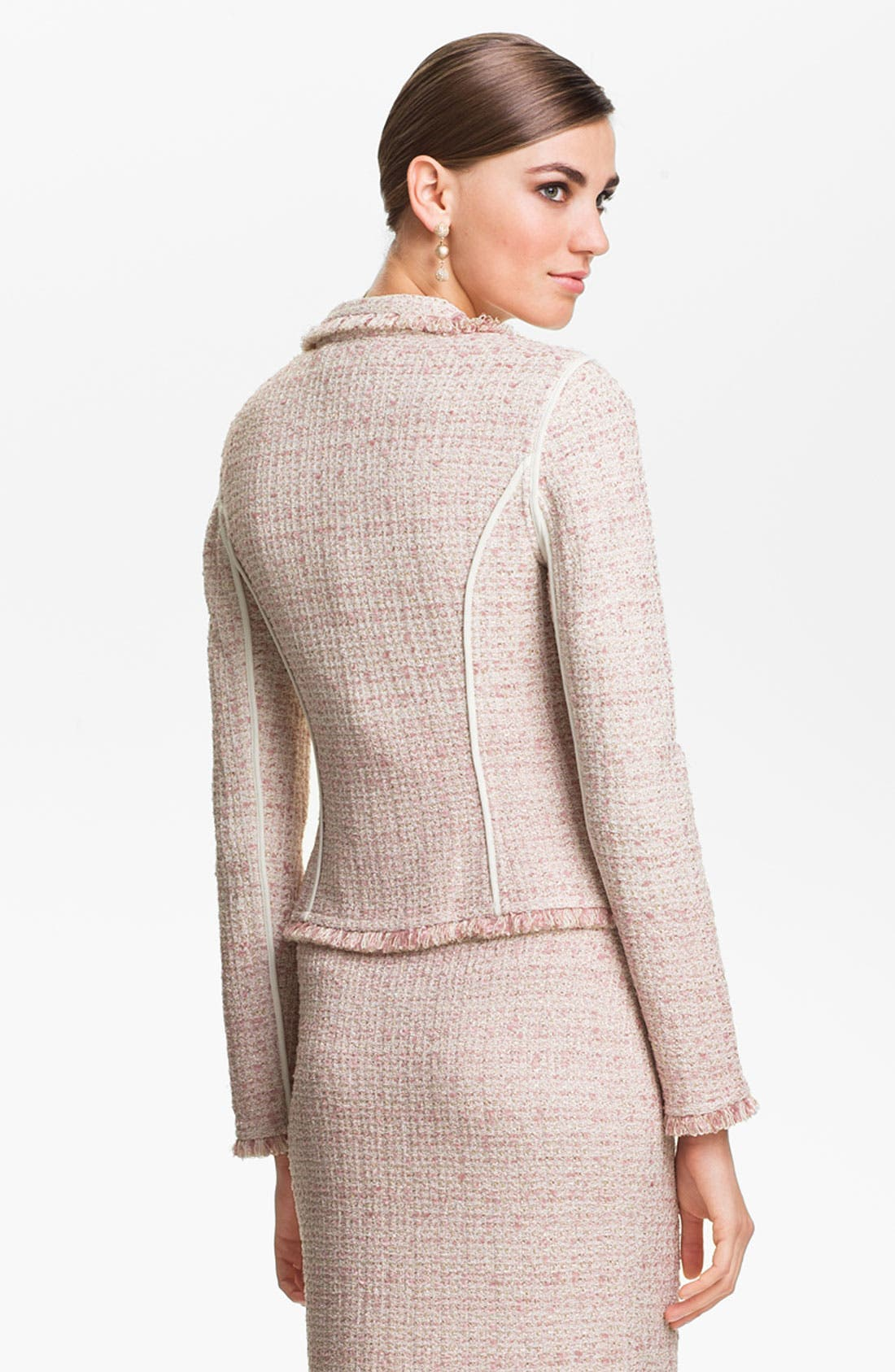 Alternate Image 4  - St. John Collection Eyelash Shimmer Tweed Jacket