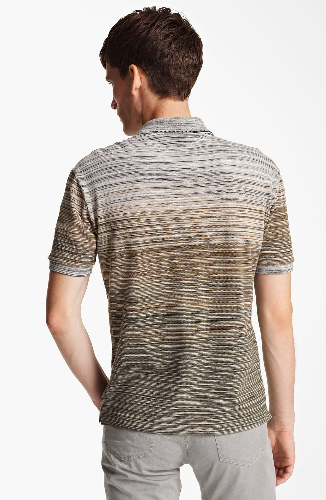 Alternate Image 2  - Missoni Stripe Piqué Polo
