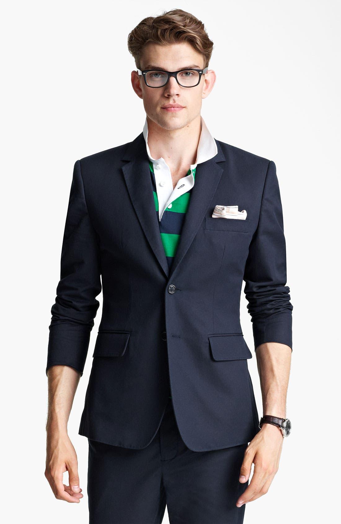 Main Image - Shipley & Halmos Cotton Blazer