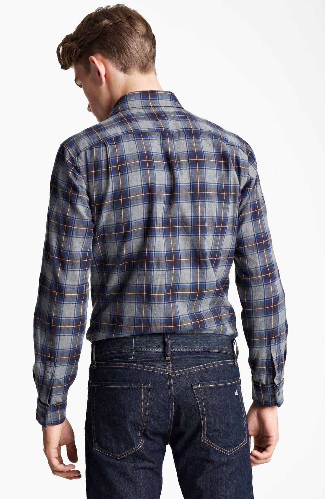 Alternate Image 2  - Steven Alan 'Collegiate' Plaid Woven Shirt
