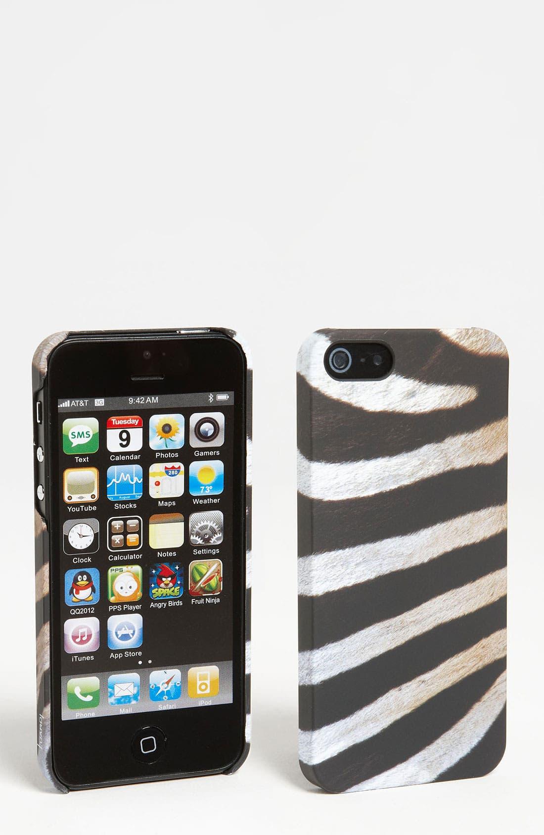 Main Image - Luardi 'Zebra' Snap-On iPhone 5 Case