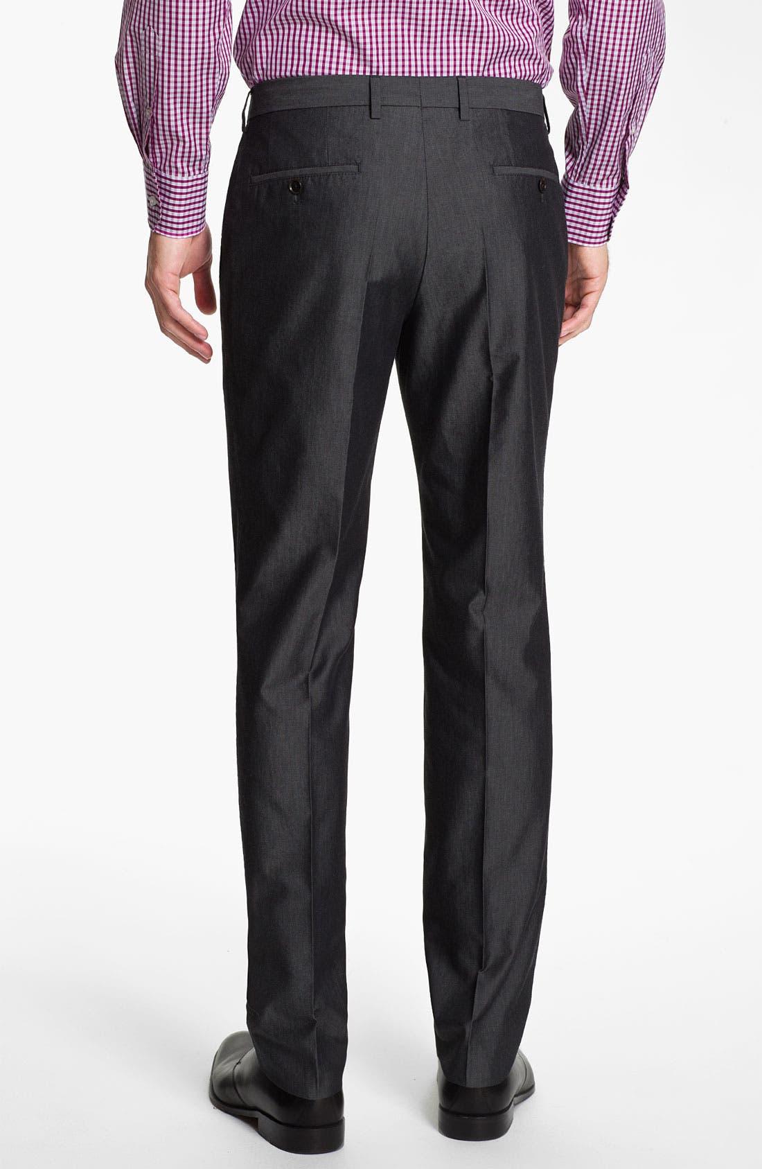 Alternate Image 5  - BOSS HUGO BOSS 'Heaven/Fly' Trim Fit Cotton Blend Suit