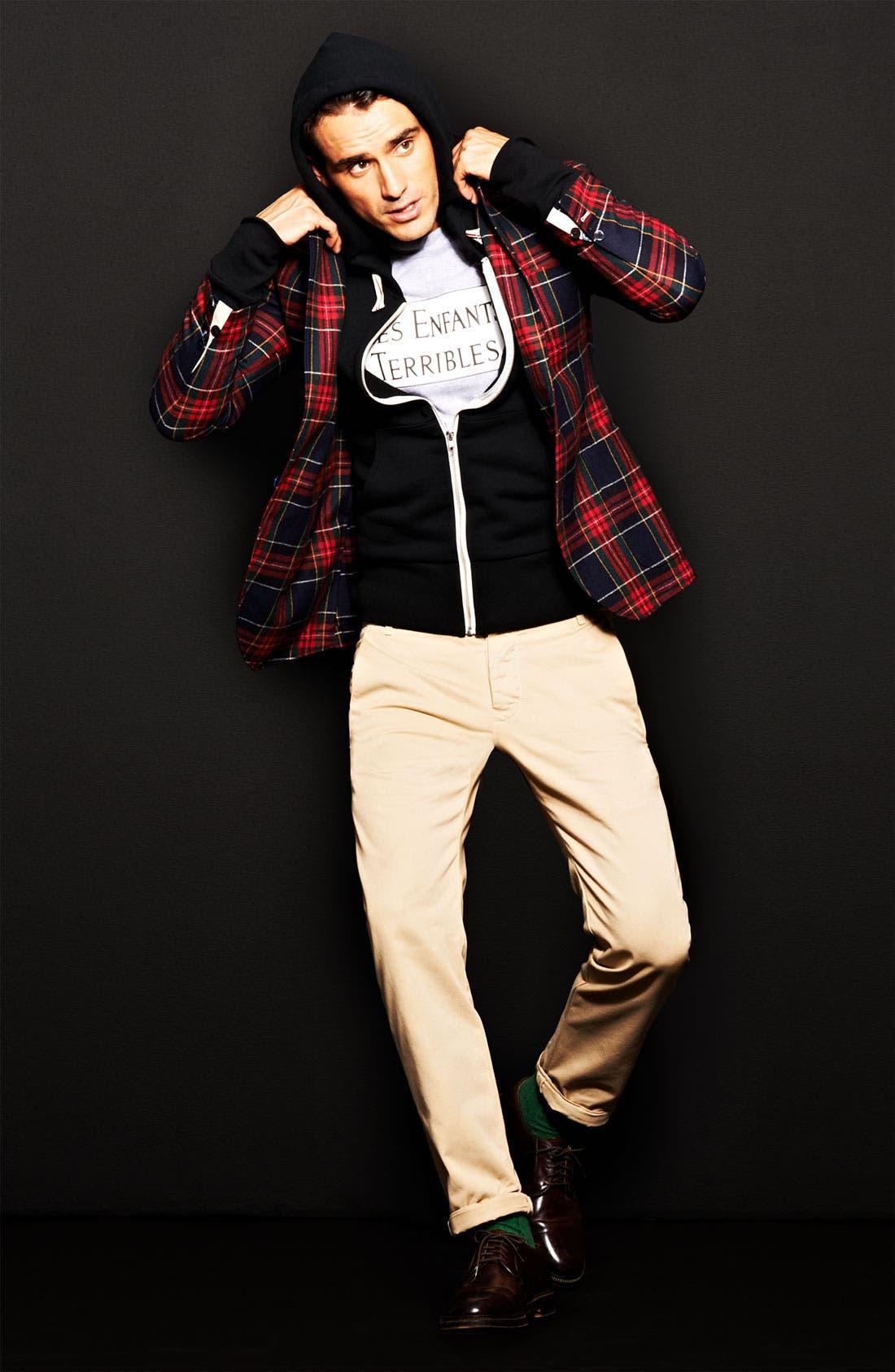 Alternate Image 4  - Gant Rugger Tartan Plaid Sportcoat