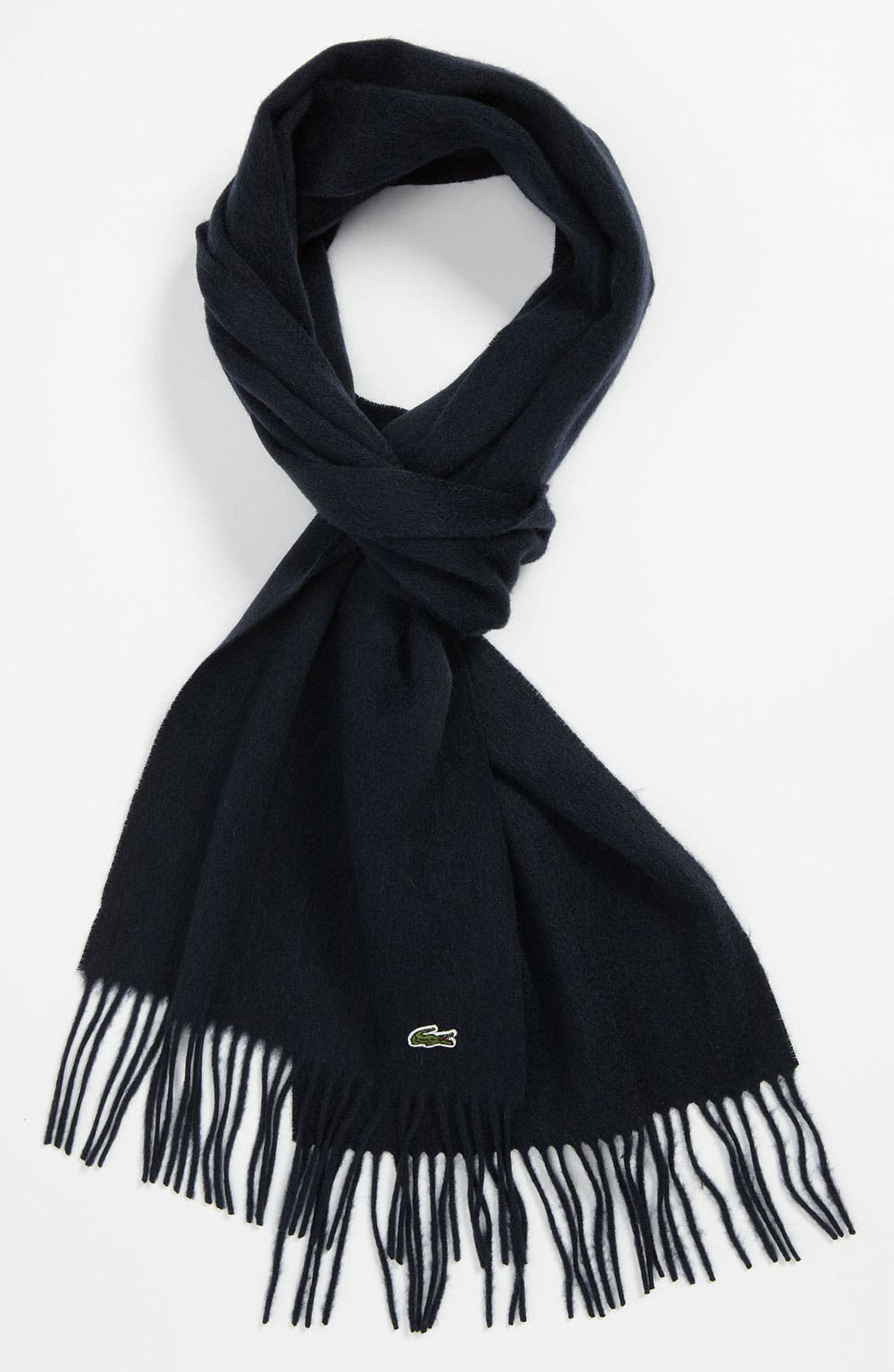 Alternate Image 1 Selected - Lacoste Wool & Cashmere Scarf