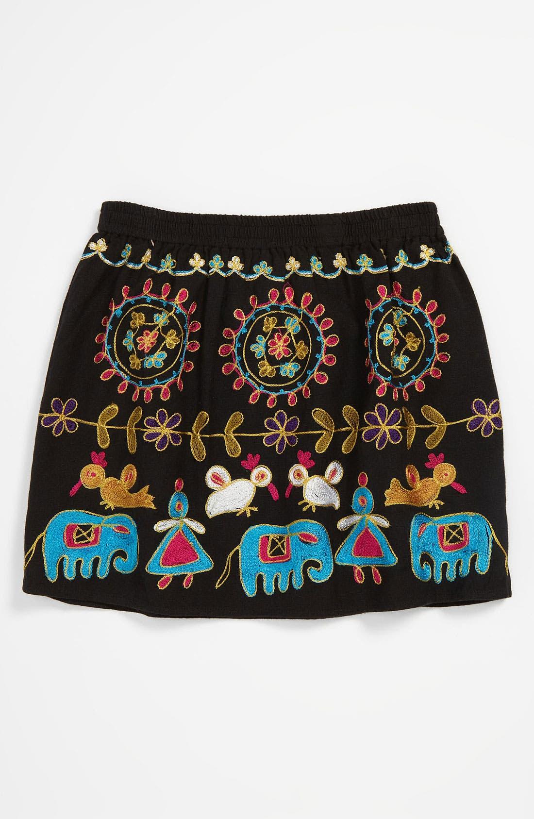 Alternate Image 1 Selected - Peek 'Martina' Skirt (Toddler, Little Girls & Big Girls)