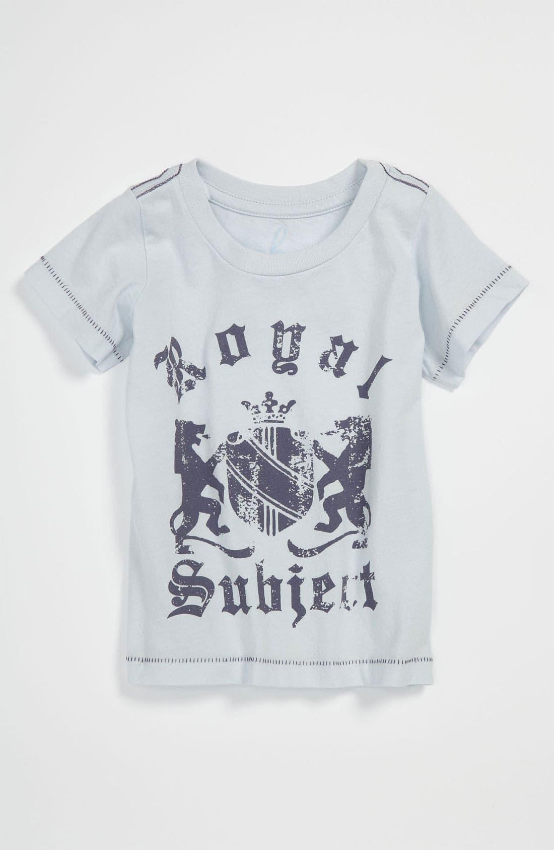 Alternate Image 1 Selected - Peek 'Royal Subject' T-Shirt (Infant)